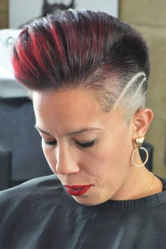 Layered Hair Female 27 Super Cool Looks With A Taper Fade Lovehairstyles