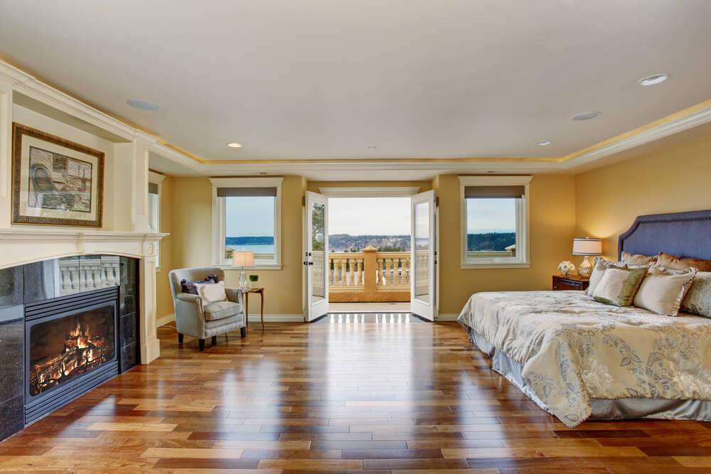 32 Bedroom Flooring Ideas (Wood Floors) - bedroom floor ideas