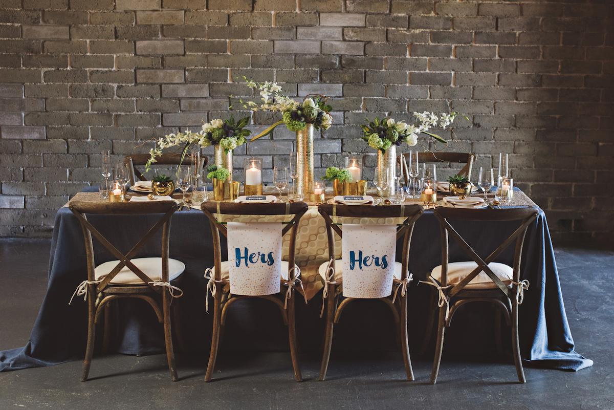 Modern Urban Wedding Inspiration With Creative Details