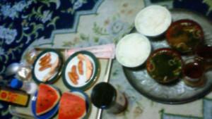 25日目夜飯