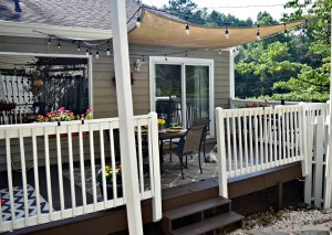 Before and After: Back Deck