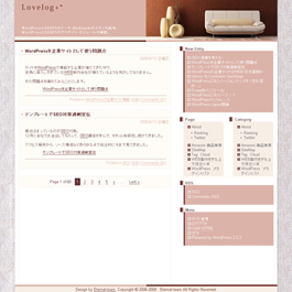 WordPress Cotton POPテーマ