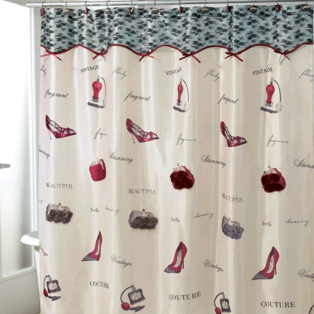 Cute Girly Shower Curtains Girly Shower Curtain Home The Honoroak