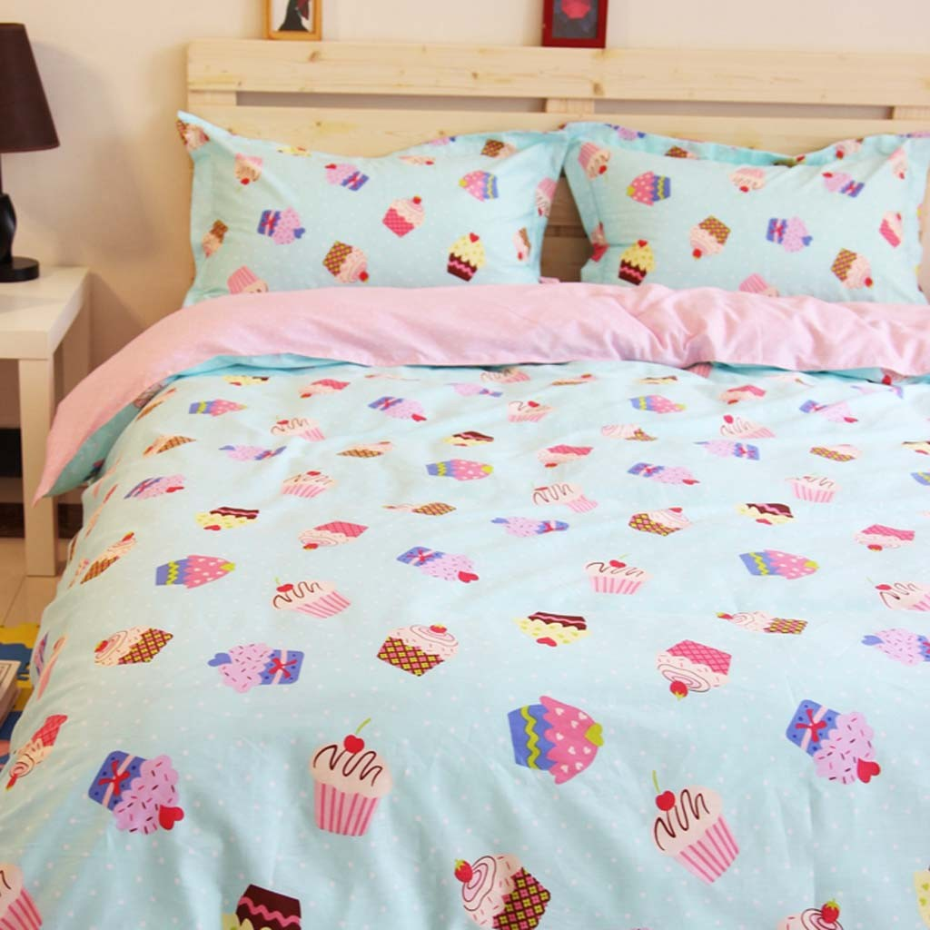 Summer Cupcake Duvet Cover Set