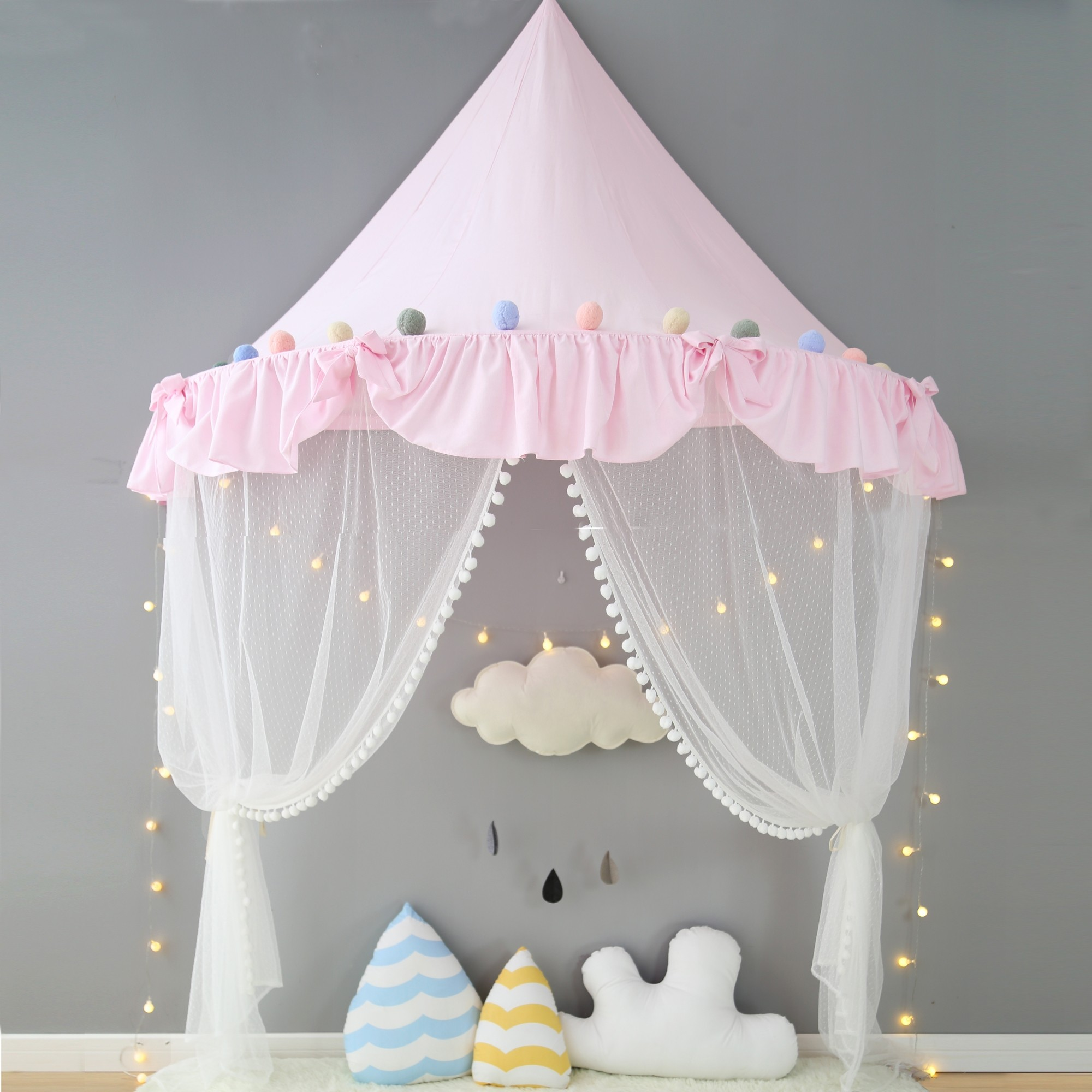 Hello Kitty Zelt Bed Canopy Curtain