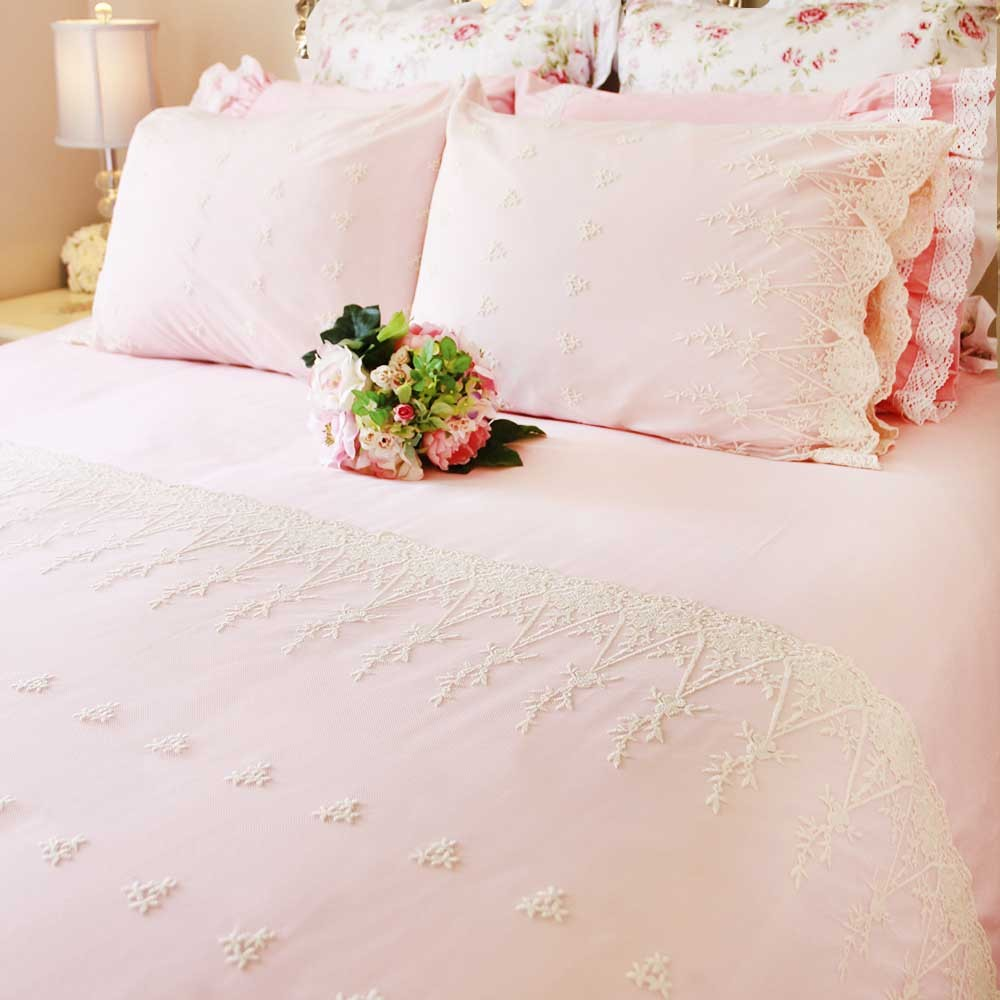 Pink Duvet Cover Pink Lace Love Duvet Cover Set