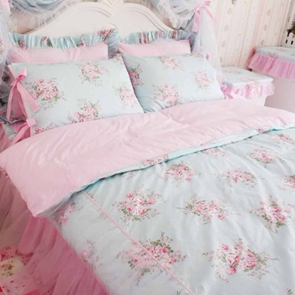 Target Queen Quilt Cover Rose Bedding