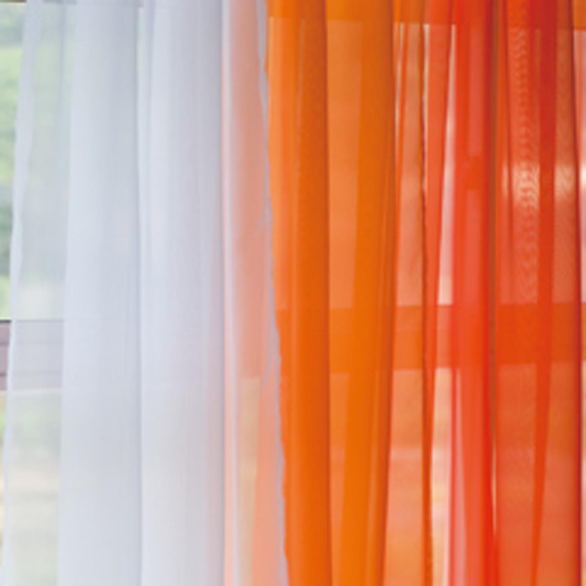 Voile Ombre Voile Silk Sheer Curtains