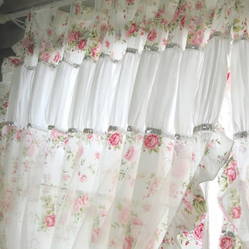 Outdoor Tischdecke Shabby Chic Curtain