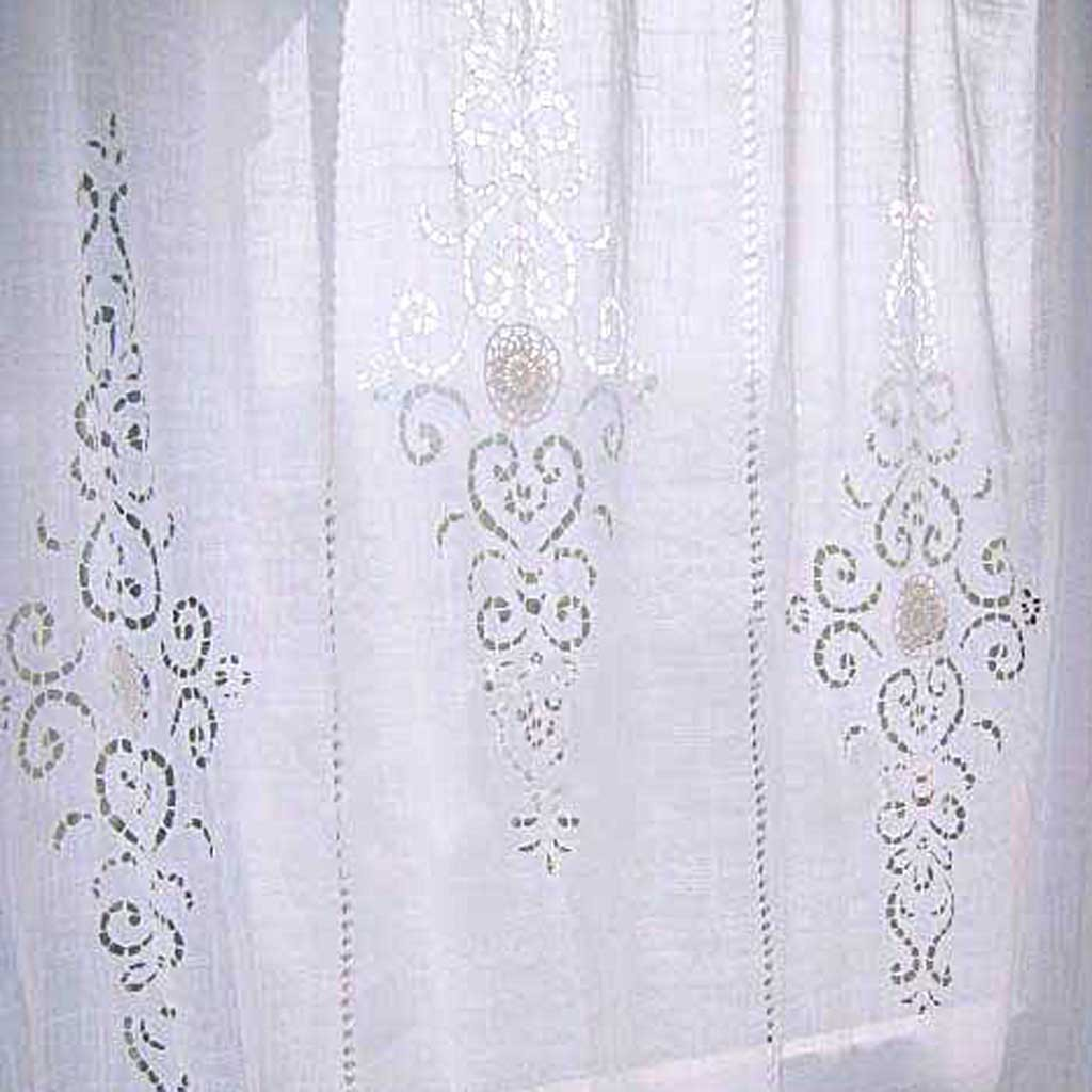 Panel Bed Crochet Curtain