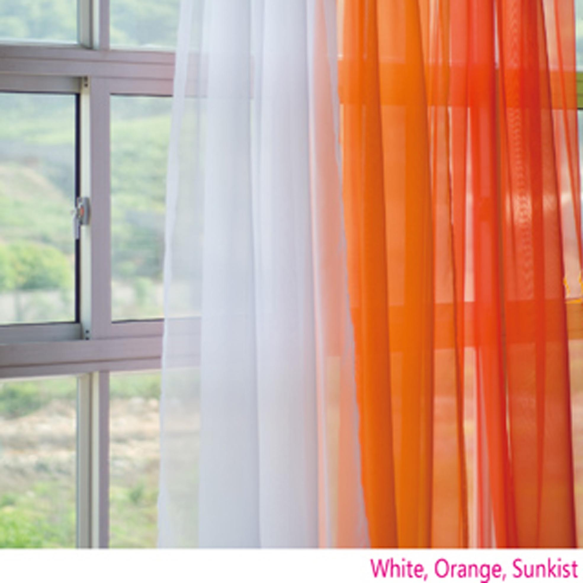 Orange Curtain Panels Orange Gradient Panel Set