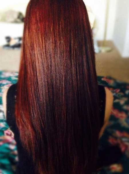 Dark Brown Red Balayage 16 Amazing Burgundy Chestnut Hair Color Ideas Hairstyles