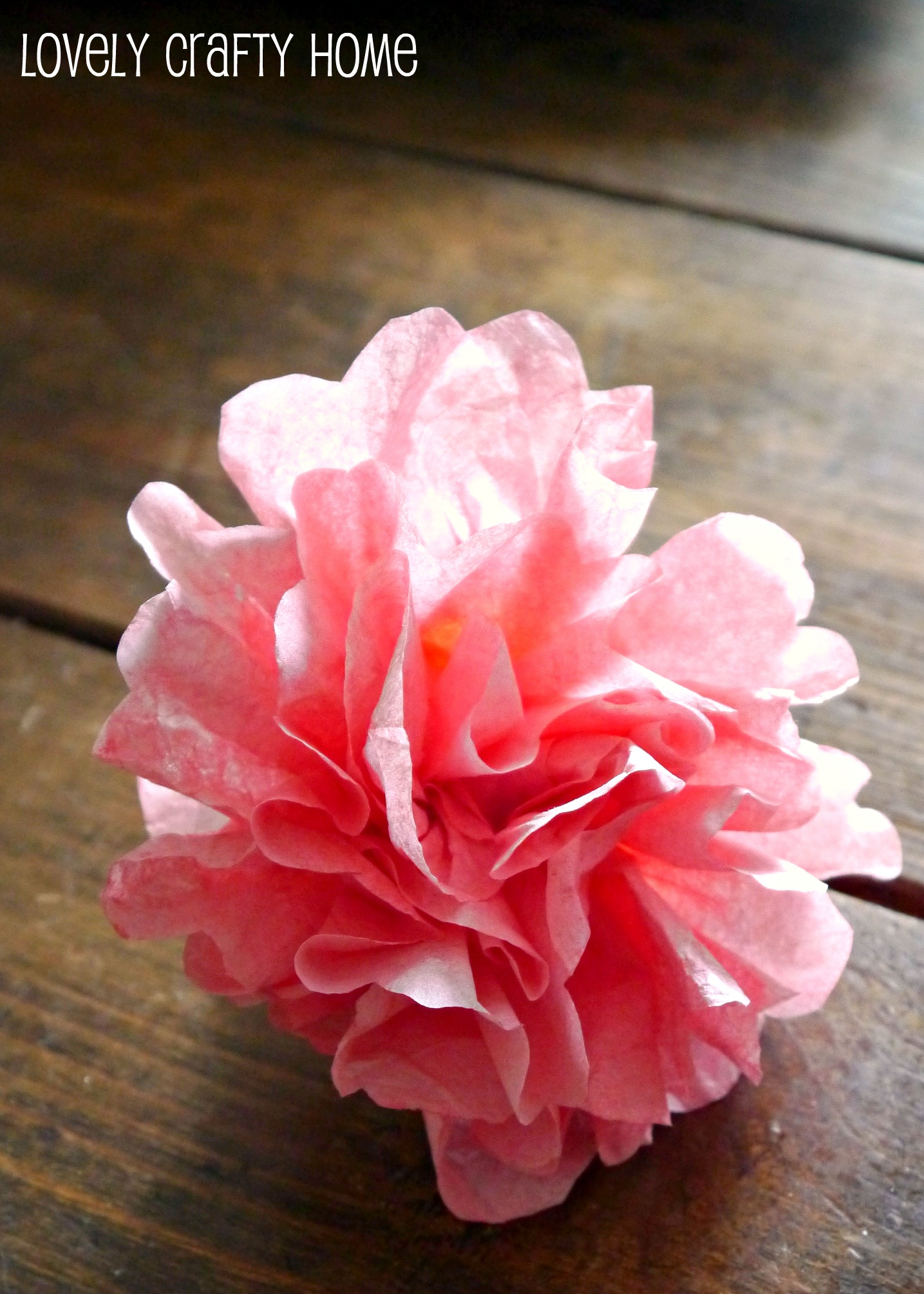 Tutorial Coffee Filter Flowers and Valentine's Decor
