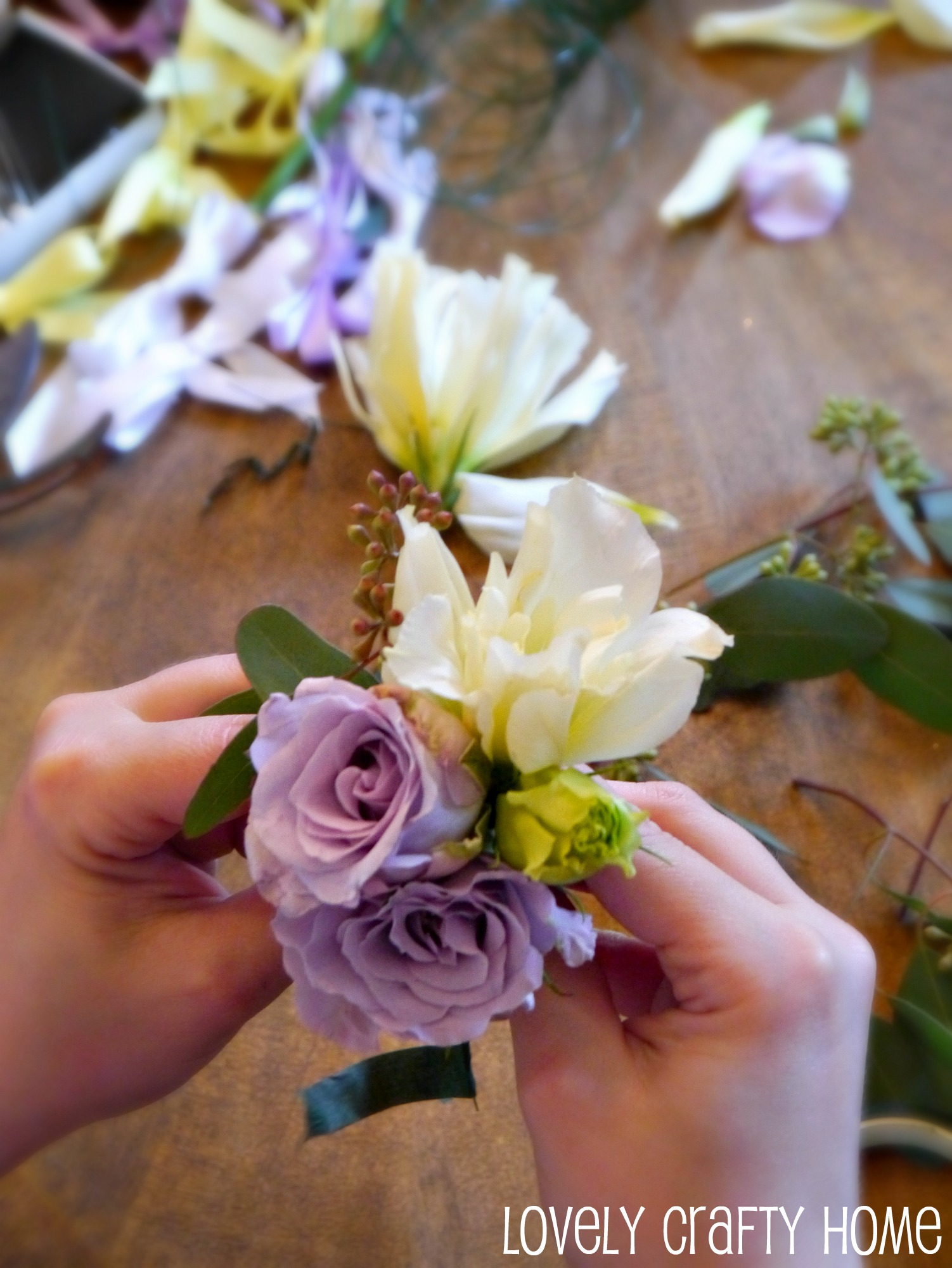 Tutorial How To Make A Corsage Like Pro