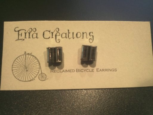pin stud earrings
