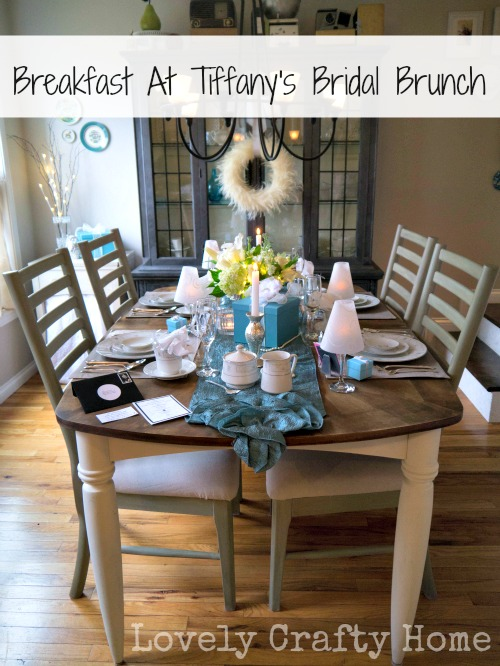 breakfast at tiffany's inspired brunch using david tutera bridal