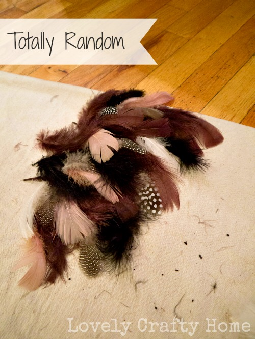 feather arrangement 3