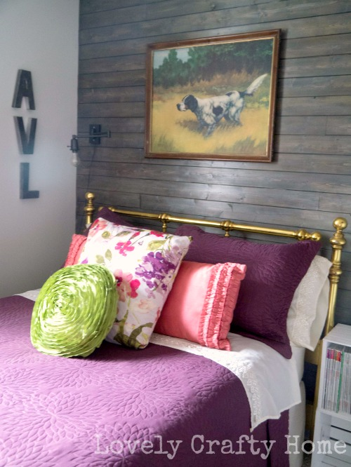 mixed metallics guest room