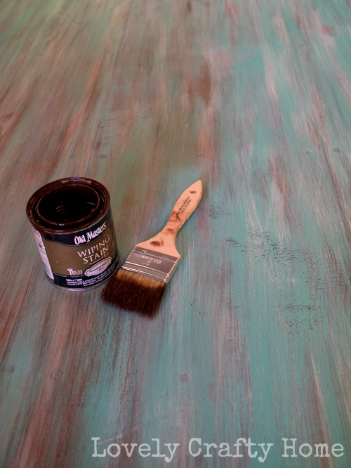 Old Masters Wiping Stain as Glaze