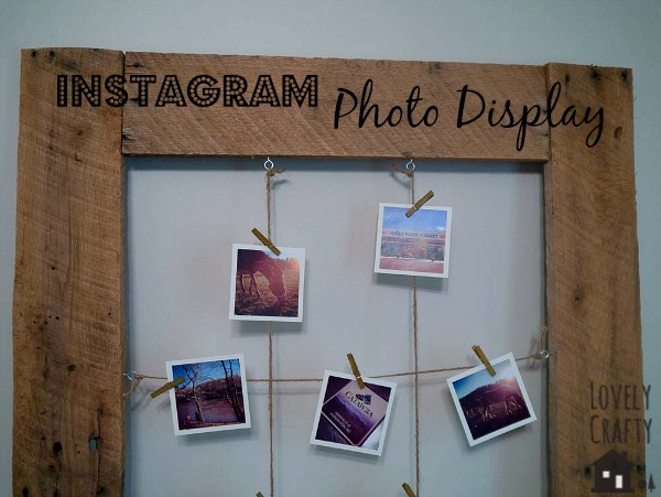 DIY Instagram Photo Memo Board