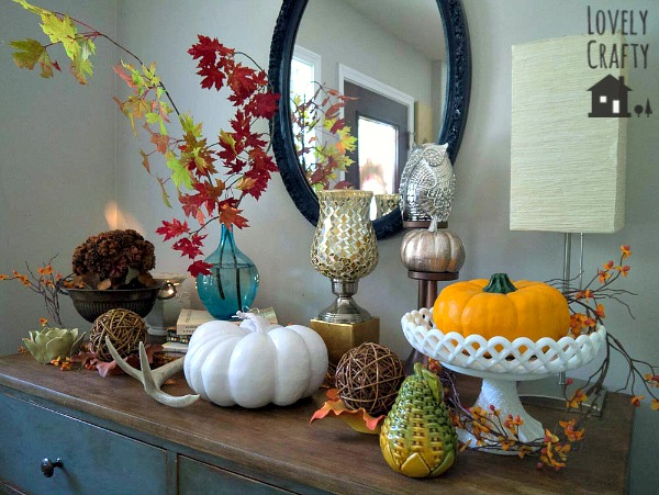 fall seasonal decor