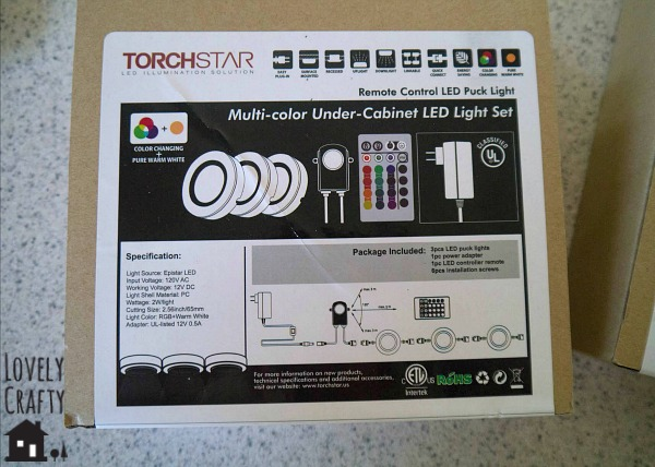 DIY Under Cabinet Lighting - Torchstar