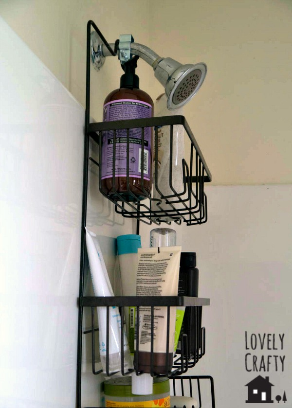 Easy Shower Caddy Hack