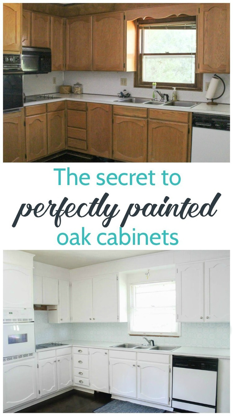 How To Update Kitchen Cabinets Painting Oak Cabinets White An Amazing Transformation Lovely Etc