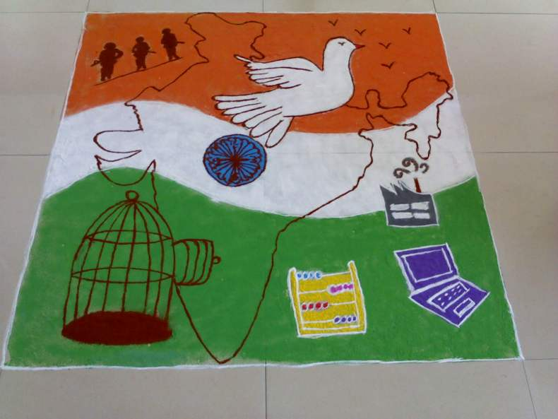 essay for children on republic day