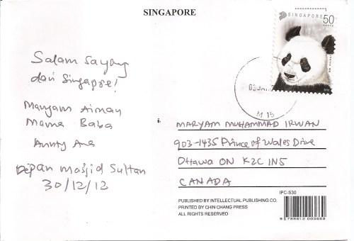 Medium Of Post Card Stamp