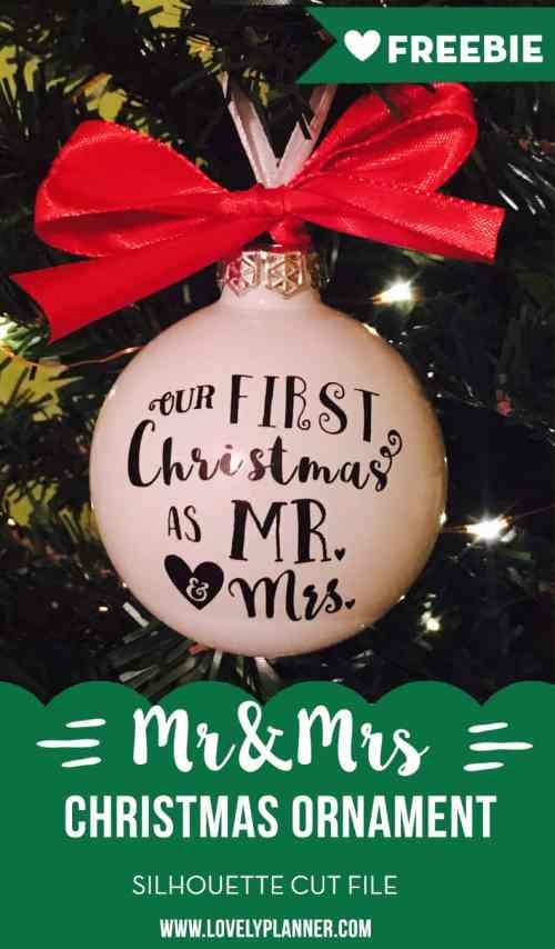 Medium Of First Christmas Ornament