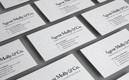 Lovely Stationery  Curating the very best of stationery design - letterpress business card
