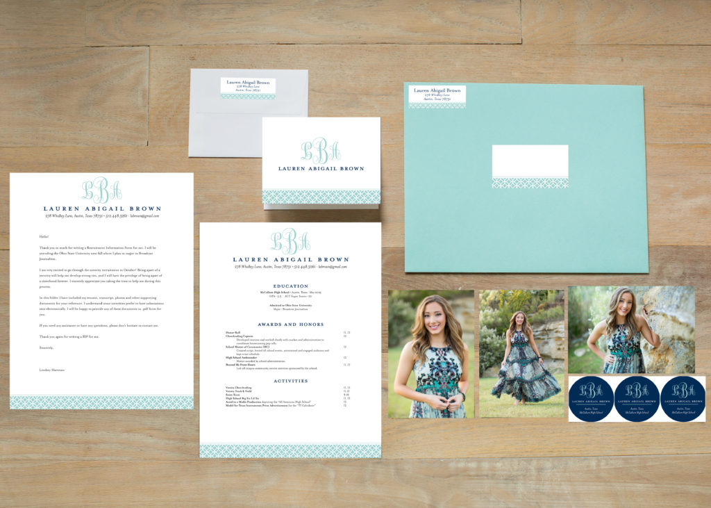 Rush 101 Perfecting Your Resume Senior Portrait Photographer in - Sorority Resume