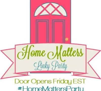 Home Matters Linky Party # 103
