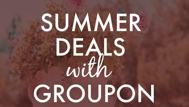 End of Summer Deals with Groupon