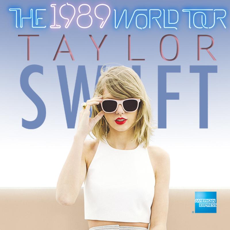 Taylor Swift The 1989 UK tour - Love Music; Love Life