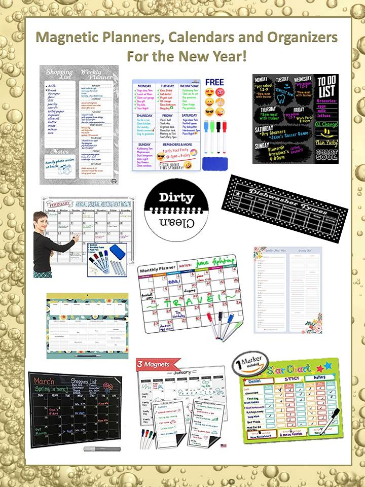 Magnetic, Planners, Calendars and Organizers for the New Year! - multi year planner