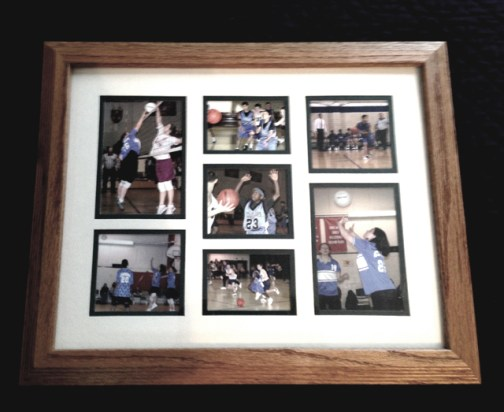 Upcycle old frame into a French Photo Frame