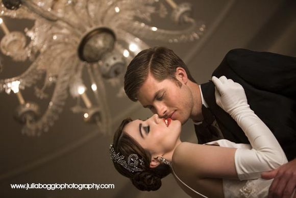Julia Boggio Captures Art-Deco Elegance at Claridges... (Bridal Fashion Styled Shoots )