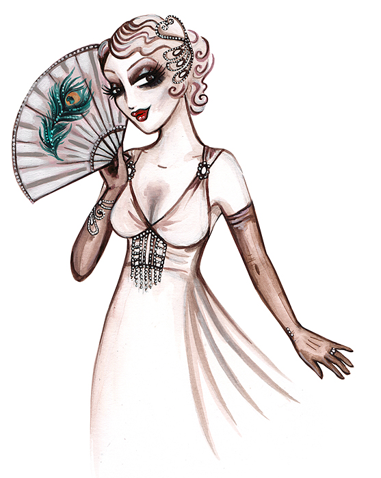 Welcome To Our New Sponsor ~ Charlotte Thomson, Art & Illustration With a Vintage Twist! (Weddings )