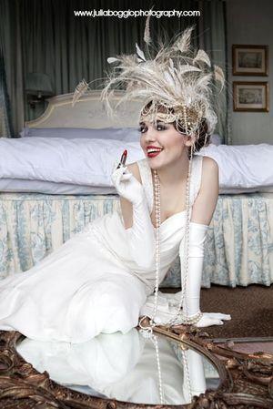1920's Wedding Inspiration... (Bridal Fashion )