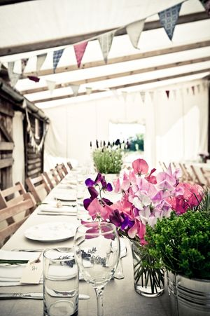 A Glastonbury Festival Inspired Wedding at Brick House Farm, Kent... (Weddings )
