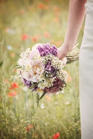 A Vintage Style English Country Garden Wedding...