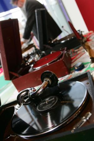 It's a Wind Up! Vintage 78 Gramophone DJ... (Weddings )