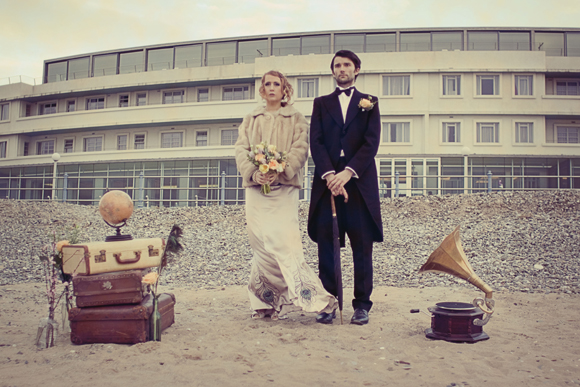 1920's Inspired Bespoke Bridal and Beachside Style... (Styled Shoots )