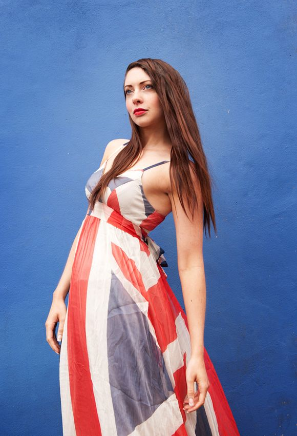 Quirky, British, Cool ~ A Celebration of Red White and Royal Blue... ()