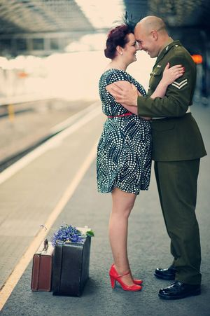 Railway Romance ~ A Stationside Engagement Shoot... (Proposals + Engagements )