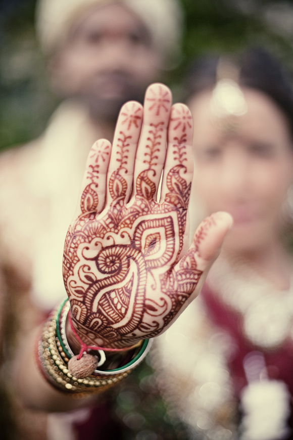 Henna Tattoos for a Joint Civil and Hindu Wedding Ceremony... (Weddings )