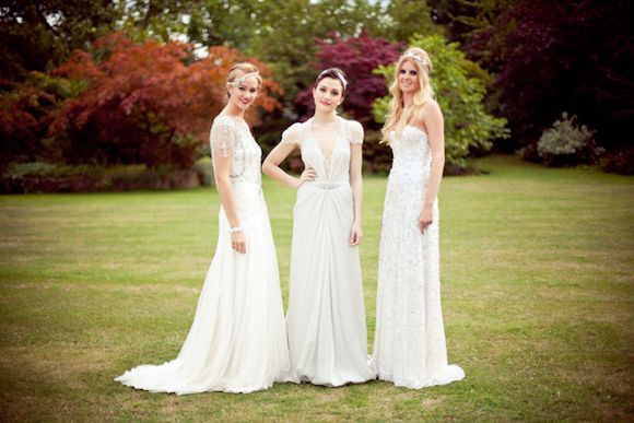 Jenny Packham 2012 Collection and Rosa Clara at Fetcham Park:  A Love My Dress Exclusive... ()