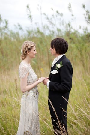 Eden by Jenny Packham for an English Country Garden Bride... (Weddings )
